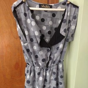 Lulu's Polka Dot Dress
